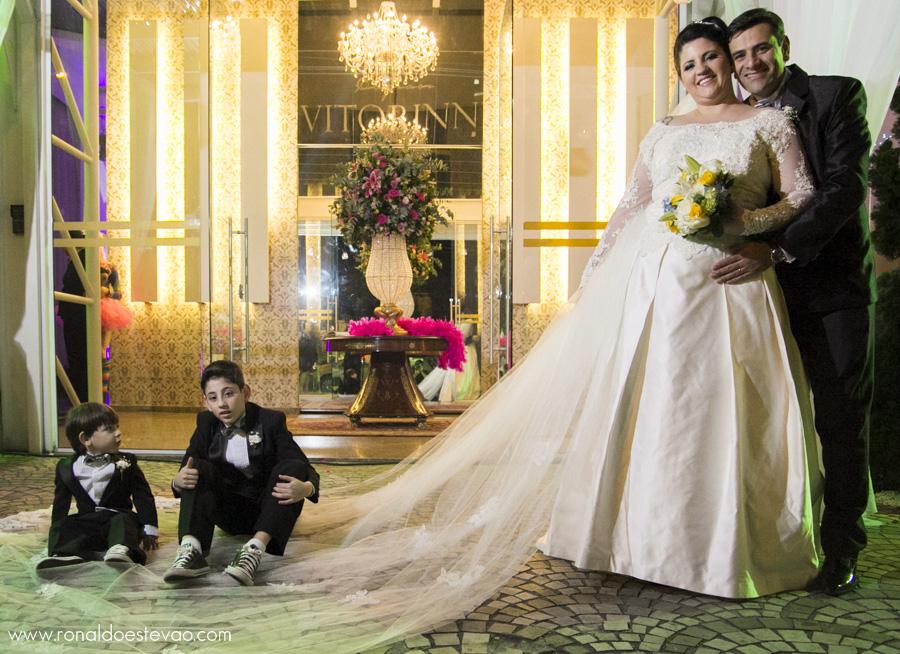 Fotos de Casamento em SP - Fotos da festa no Espaço Vitorinni - Fotos por Ronaldo Estevão