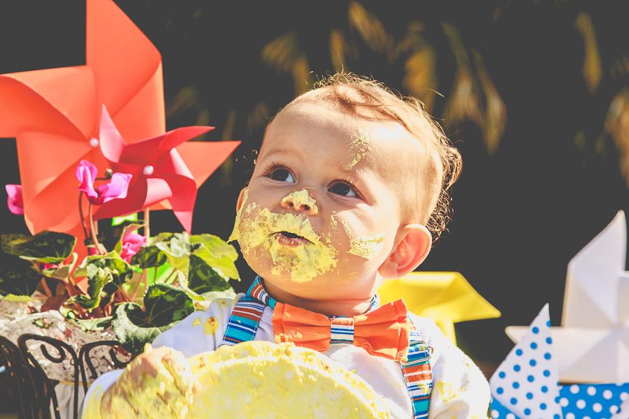 Ensaio Smash The Cake no Jd. Botânico de Jundiaí